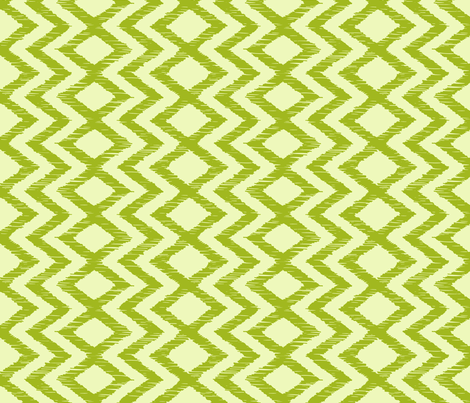 sketch_X - lime fabric by marcador on Spoonflower - custom fabric