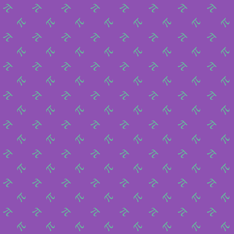 tiny pi diamonds (jazz grape) fabric by weavingmajor on Spoonflower - custom fabric