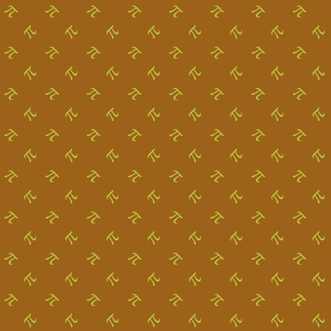 caramel apple pi fabric by weavingmajor on Spoonflower - custom fabric