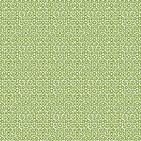 Apples_Worm_Tracks___-Leaf-Green_on_White fabric by fireflower on Spoonflower - custom fabric