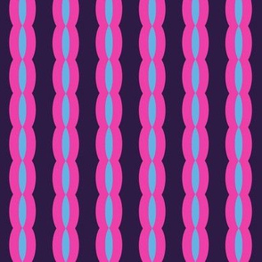 Woven Ribbon Stripes  - Retro Punky!- Just Like The 60's  - © PinkSodaPop 4ComputerHeaven.com