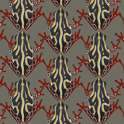congo tree frog fabric by scrummy on Spoonflower - custom fabric