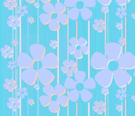 Buttercups - cotton candy fabric by wiccked on Spoonflower - custom fabric