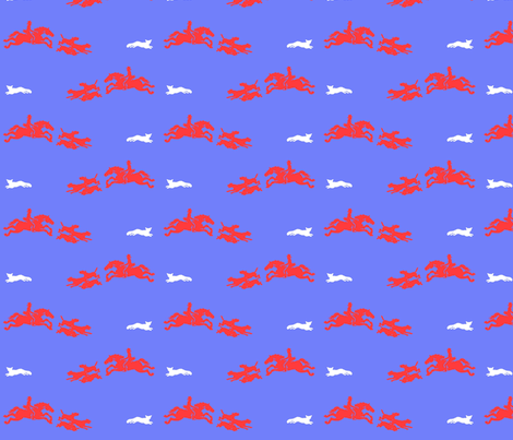 The Chase fabric by ragan on Spoonflower - custom fabric
