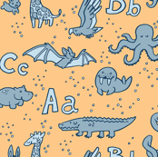 Animals at the Zoo Alphabet Pattern