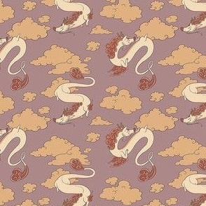 Eastern Dragon Pattern