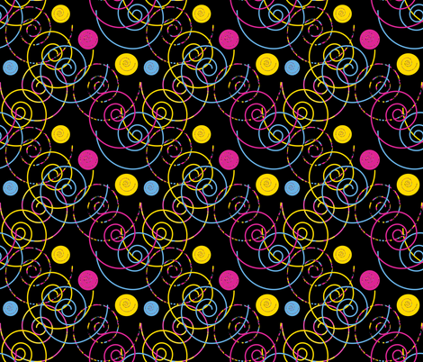Contrail Mashup fabric by anniedeb on Spoonflower - custom fabric