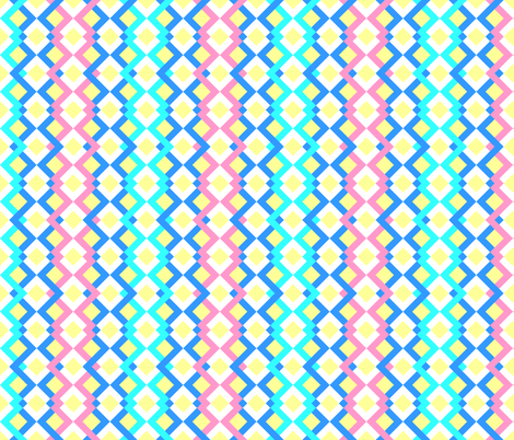 Carribean_Trellis fabric by julia_designs on Spoonflower - custom fabric