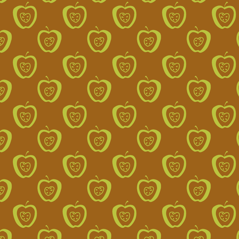 tiny apples Gb fabric by glimmericks on Spoonflower - custom fabric