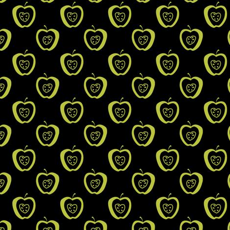 tiny apples KG fabric by glimmericks on Spoonflower - custom fabric