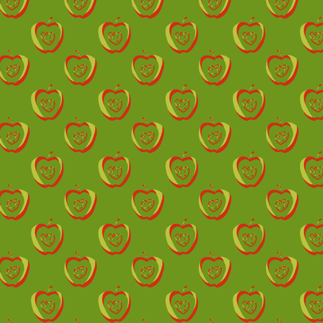 tiny apples TriRG fabric by glimmericks on Spoonflower - custom fabric