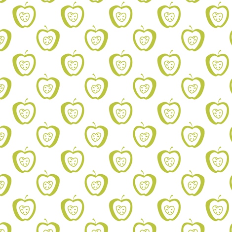 tiny apples WG fabric by glimmericks on Spoonflower - custom fabric