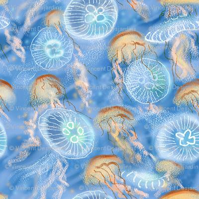 Jellyfish Swarm Lighter