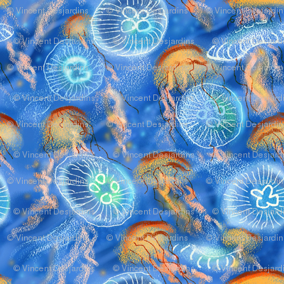 Jellyfish Swarm Saturated