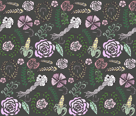 Demeter's Harvest fabric by graceful on Spoonflower - custom fabric