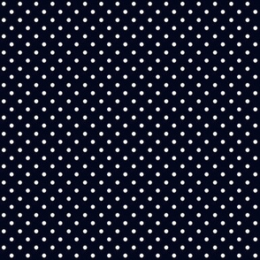 Swiss Dots Black