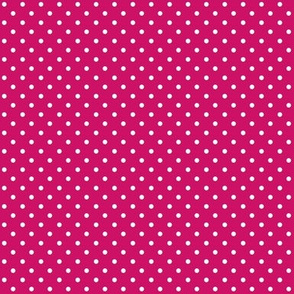 Swiss Dots Dark Pink