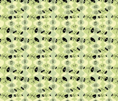 Modern_zigzag_lt_green_black_shop_preview