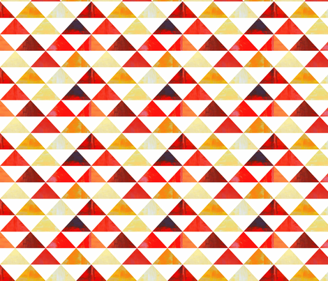 Triangles 1 fabric by owlandchickadee on Spoonflower - custom fabric