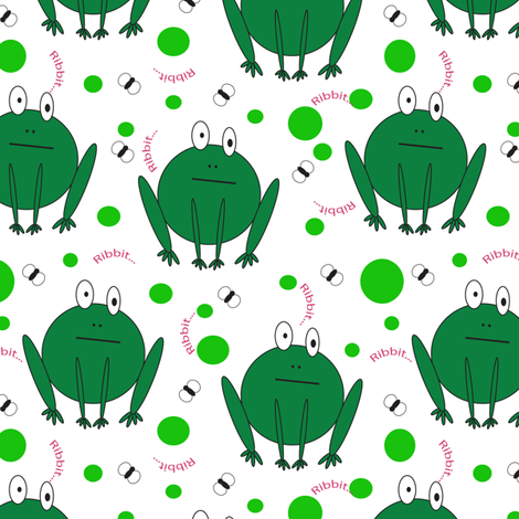 frogz fabric by ariayden on Spoonflower - custom fabric