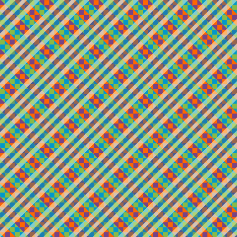 diamonds in the trough fabric by glimmericks on Spoonflower - custom fabric