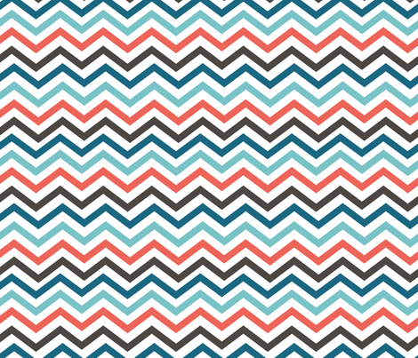 chevron fabric by kociara on Spoonflower - custom fabric