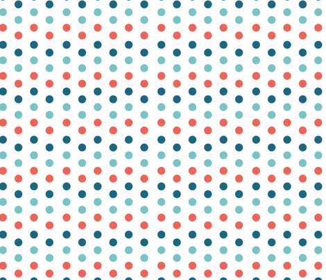 polka dots fabric by kociara on Spoonflower - custom fabric