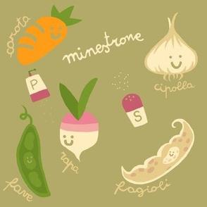 Minestrone with Veggies