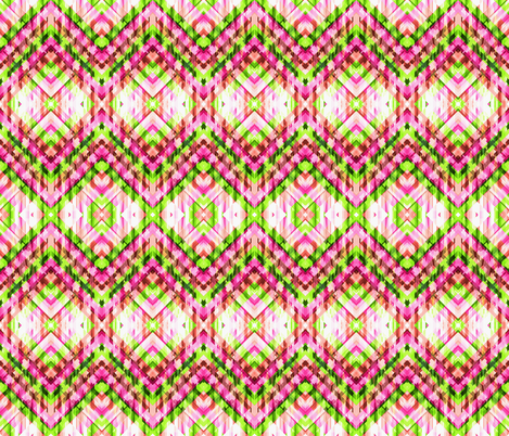 Jewelled Chevron fabric by glanoramay on Spoonflower - custom fabric