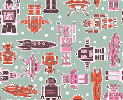 Robots and Spacecraft