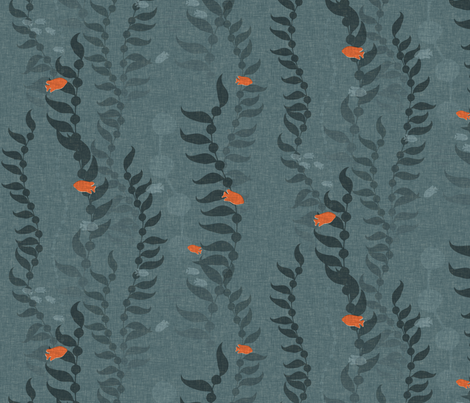 Kelp Forest - large fabric by thecalvarium on Spoonflower - custom fabric