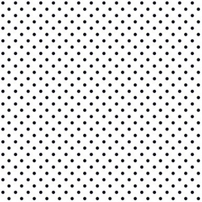 Swiss Dots Black Reverse