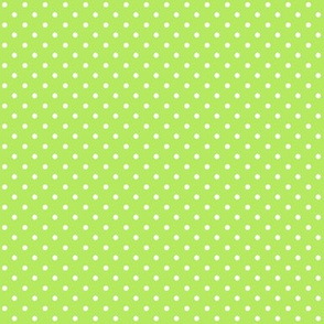 Swiss Dots Floral Green