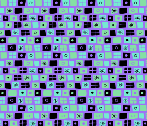 Modern Flags Purple fabric by vinpauld on Spoonflower - custom fabric