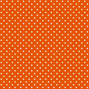 Swiss Dots Orange