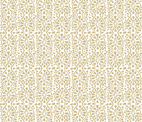 Cobblestone Sand Reverse fabric by lulabelle on Spoonflower - custom fabric