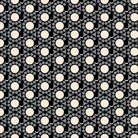 Deposit 10¢ (Gray) fabric by pennycandy on Spoonflower - custom fabric