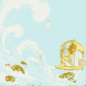 Jason's voyage ocean blu