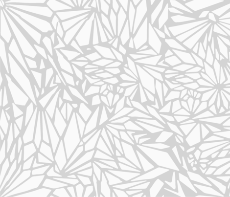 paper_cut_outs_GRAY fabric by crystal_walen on Spoonflower - custom fabric
