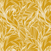 striped_feather_GOLD_MUSTARD