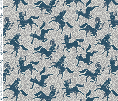 Centaur fabric by meliszawang on Spoonflower - custom fabric