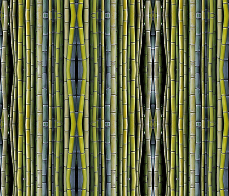 Big Bamboo fabric by whimzwhirled on Spoonflower - custom fabric