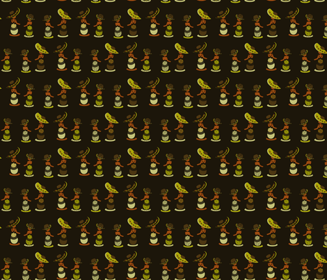 Trinidad & Tobago fabric by eppiepeppercorn on Spoonflower - custom fabric