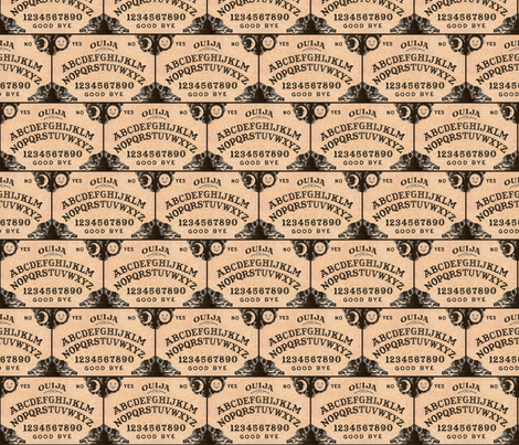 Ouija - Small fabric by dr_frybrain on Spoonflower - custom fabric