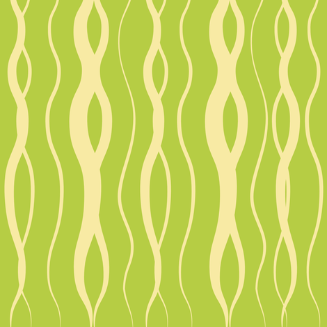 Lime Green Kelp fabric by alainasdesigns on Spoonflower - custom fabric