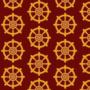 Tibetan Dharma Wheel