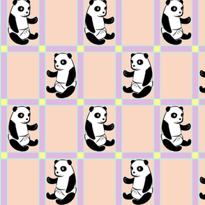 Baby Panda Girl Colours