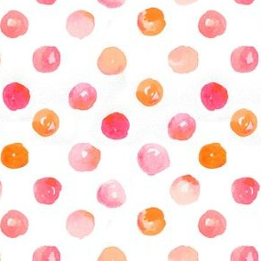 polkadots in water