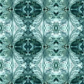 Turquoise Scrolls