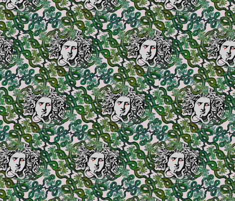 Gorgós  fabric by cocobo on Spoonflower - custom fabric